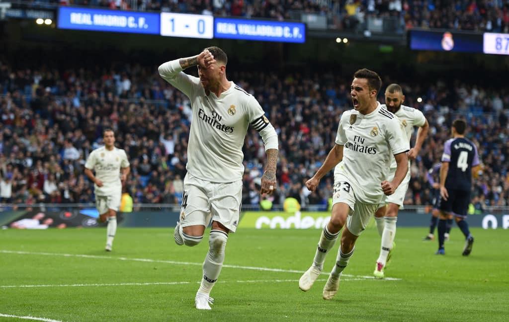 Real Madrid record narrow 2-0 victory over Valladolid in La Liga