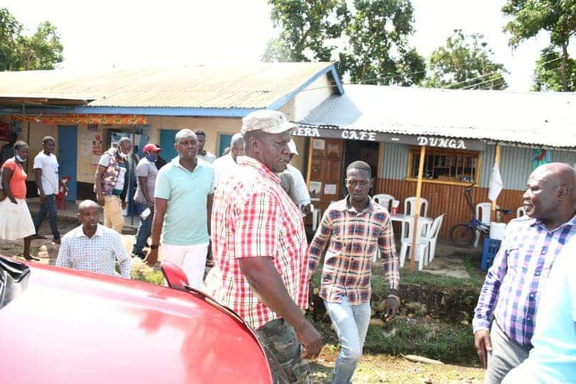 Oscar Sudi apokelewa ngome ya Raila Odinga