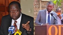 """Sifuna Amsuta Matiang'i kwa Kuchochea Machafuko Katika Uchaguzi wa Bonchari:""""Ni Mnyama Yule"""""""