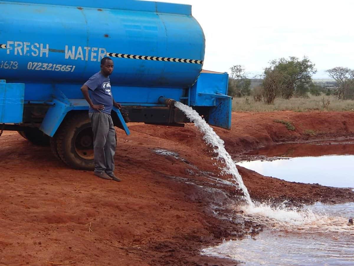 Kenyan man supplying drinking water for wild animals to undergo Kidney transplant, appeals for help