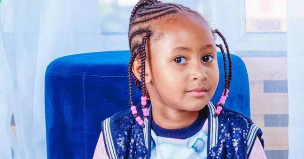 Ladasha Belle has been entertaining Kenyans online.