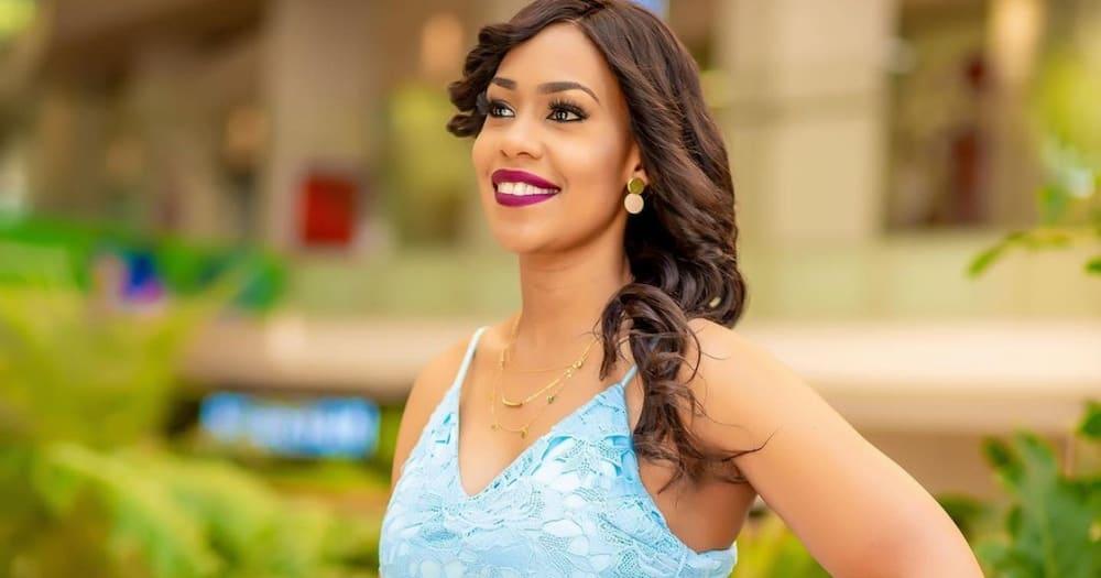 Victoria Rubadiri went on a tweef with KOT.