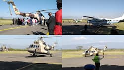 All about powerful military choppers that flew to Kabarak for Daniel Moi's burial