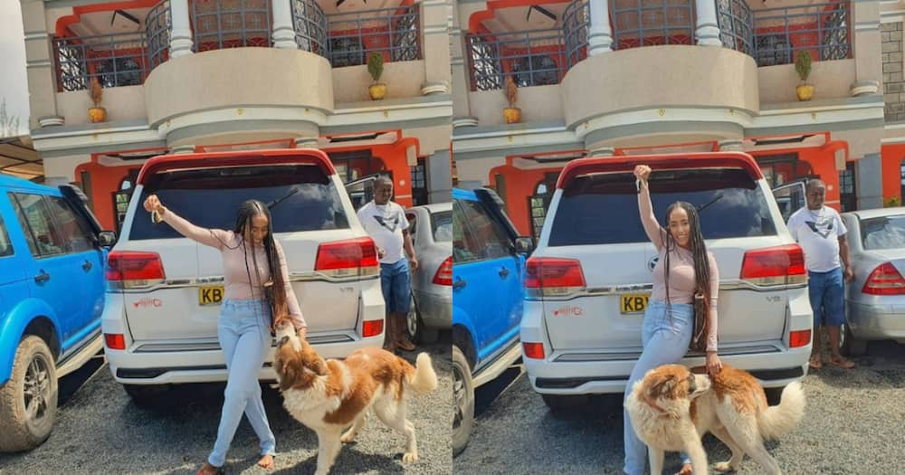 Victor Kanyari's sister gifted car by elder brother days to her birthday