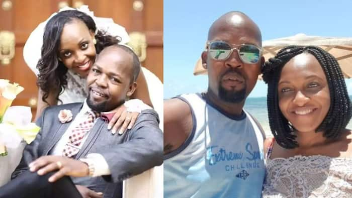 Love Wins: 11 Delightful Photos of Alex Mwakideu, Beautiful Wife Mariam Mwemba