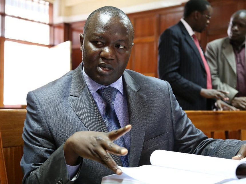 JSC commissioner Tom Ojienda evades arrest for controversially driving government vehicle