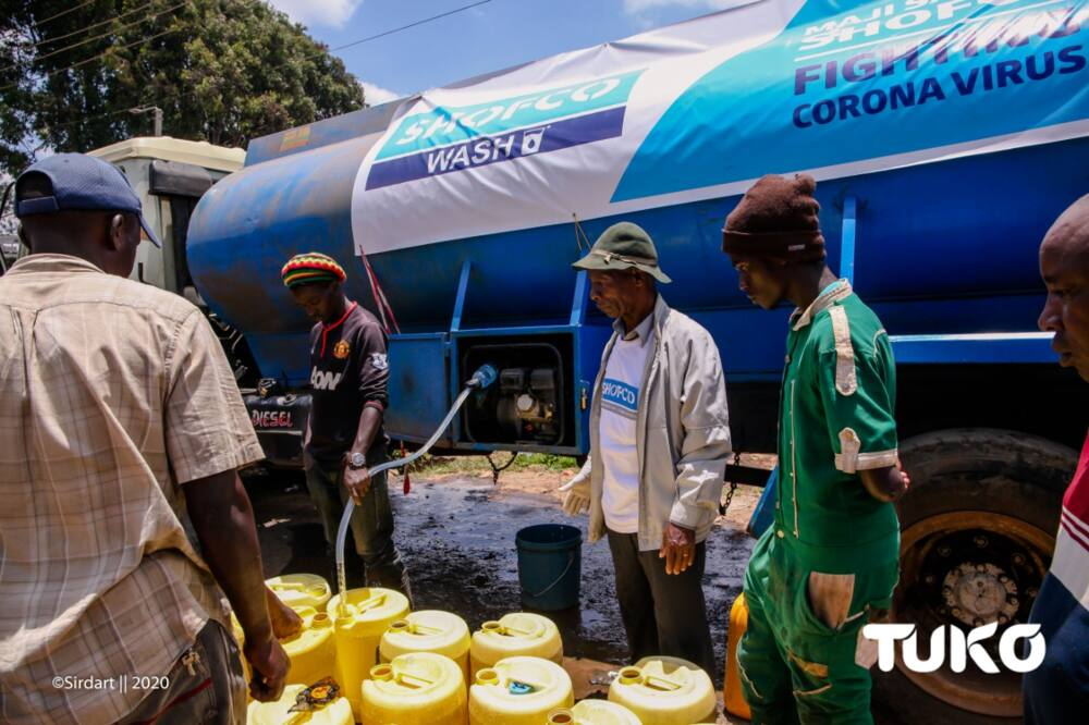 SHOFCO beat Kenya Red Cross Society and other NGOs in a survey conducted by TIFA. Photo: Enock Ndalaya.