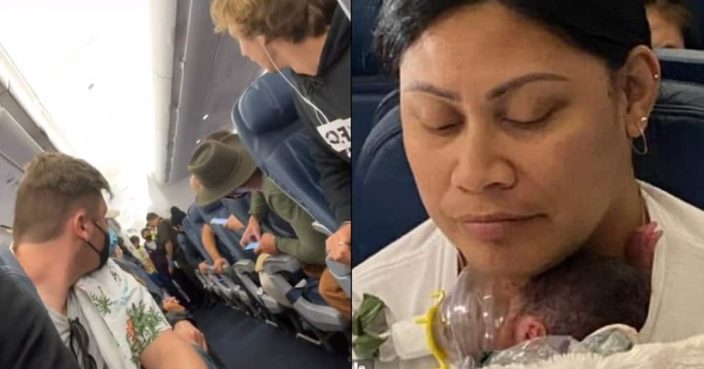 Surprise of a lifetime: Woman who didn't know she was pregnant gives birth on a flight