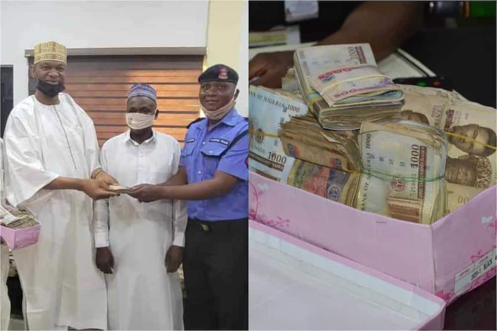 Heart of Gold: Police Sergeant Returns N1.2m Found at Accident Scene, Says Official
