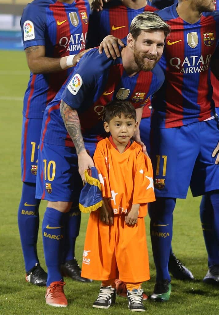 From dream to nightmare: Afghan's little Messi who met Argentinian star flees country