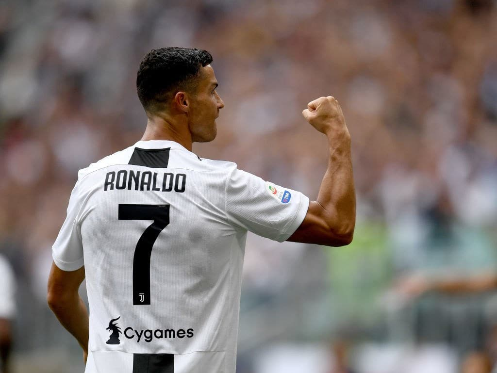 Top 10 male footballers in the year 2018