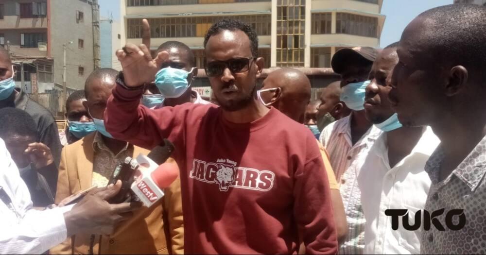 Nairobi traders count huge losses as NMS demolishes Stalls.