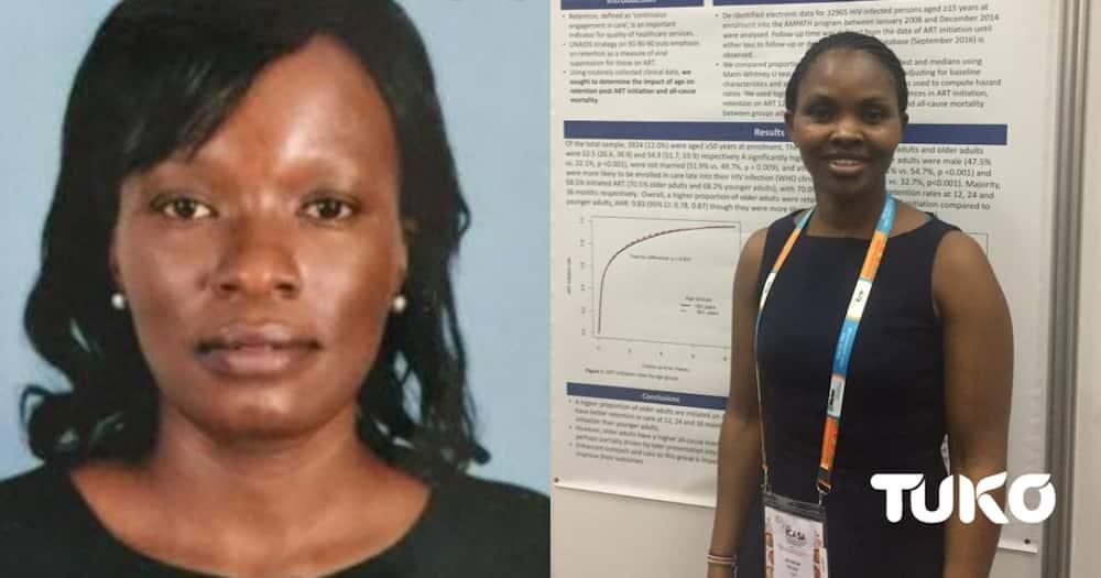 Scientists Jepchirchir Kiplagat and Florence Jaguga who bagged the prestigious Fogarty Global Health Fellowships.