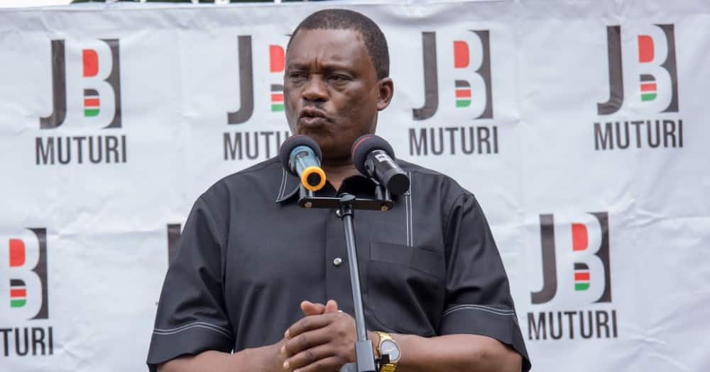 National Assembly Speaker Justin Muturi. Photo: Justin Muturi.