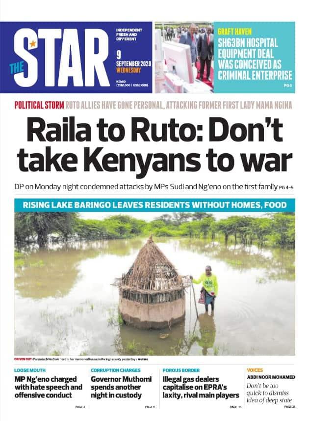 Magazeti ya Jumatano, Septemba 9: Kenya ilikopa KSh 4.5 bilioni kila siku kukabili COVID-19