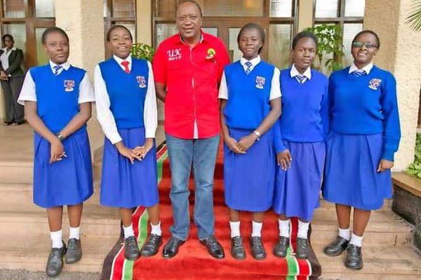 Kisumu Girls High school students win continental award, to be awarded KSh 2.5 million