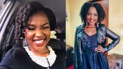 What's the secret? Fans in awe of TV girl Joyce Omondi's stunning natural hair