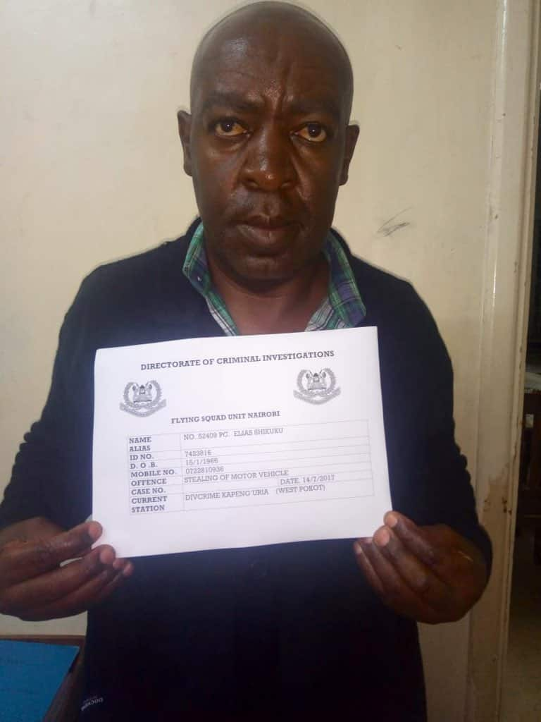 Detective arrested for stealing, selling detained vehicle in West Pokot