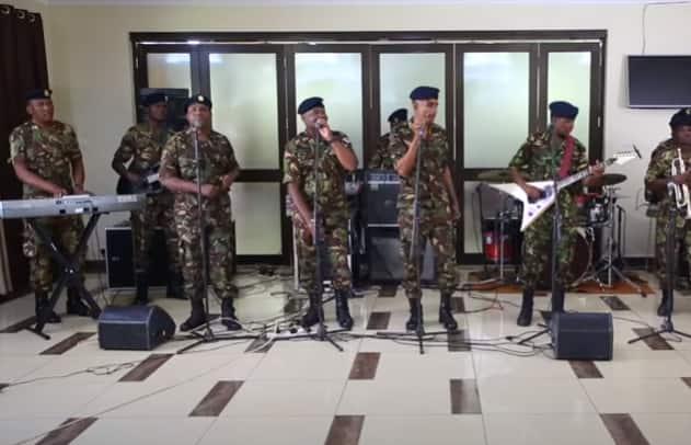 KDF music group Maroon Commandos praised for epic Rhumba song, Corona