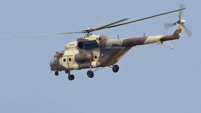 KDF Helicopter Crashes in Ngong, Rescue Mission Underway