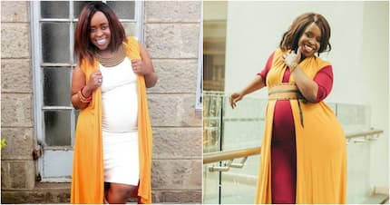 13 amazing photos of pregnant former TV girl Faith Muturi which prove she looks like a snack