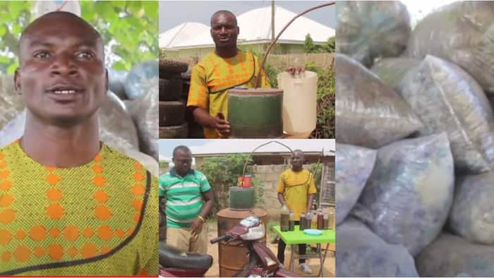 Brilliant Man Turns Plastic Waste Into Fuels to Power Cars and for Household Use