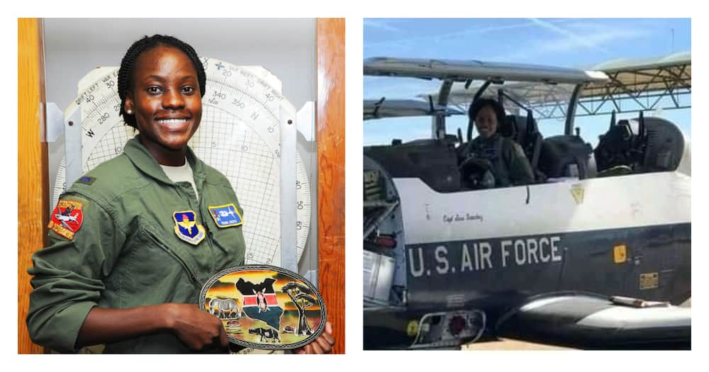 Fiona Akoth: Kenya's first female pilot to fly the US Air force jets
