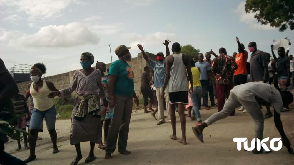 Mombasa: Wakazi wa Changamwe waandamana wakidai chakula cha msaada
