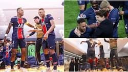 Inside PSG's Wild Dressing Room Celebrations After Perfect Champions League Revenge Over Bayern