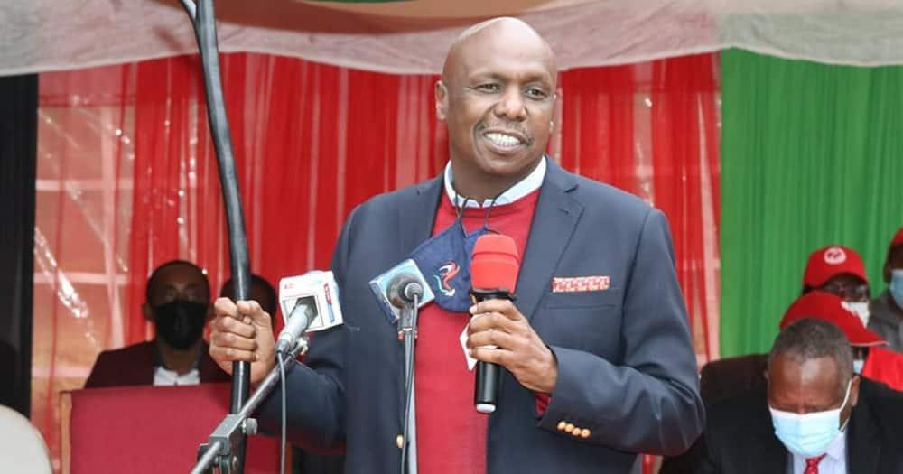 Baringo senator and KANU party leader Gideon Moi. Photo: Gideon Moi.