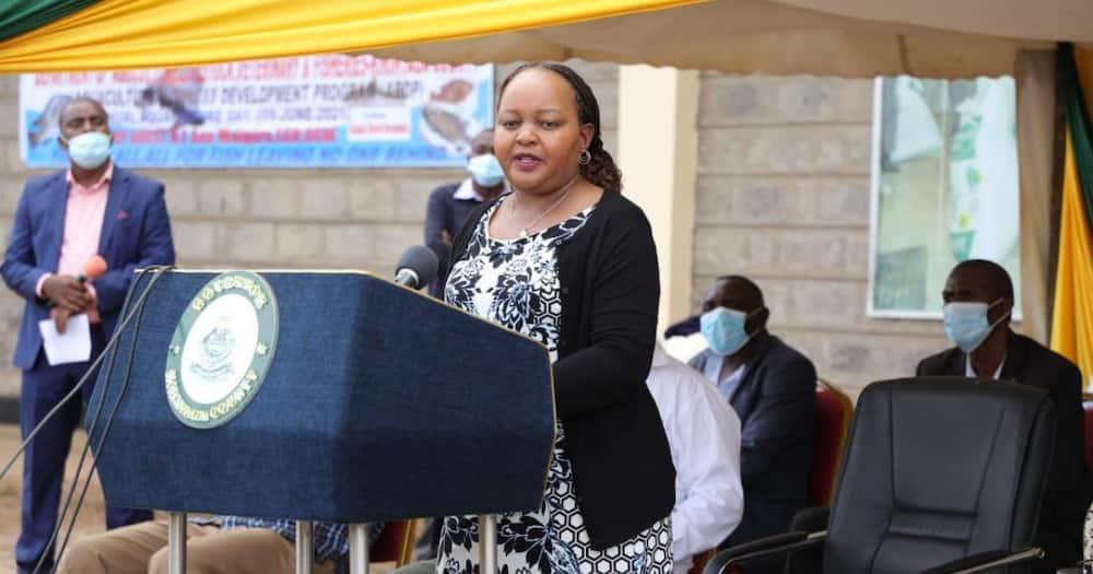 Kirinyaga Governor Anne Wiaguru. Photo: Anne Waiguru.