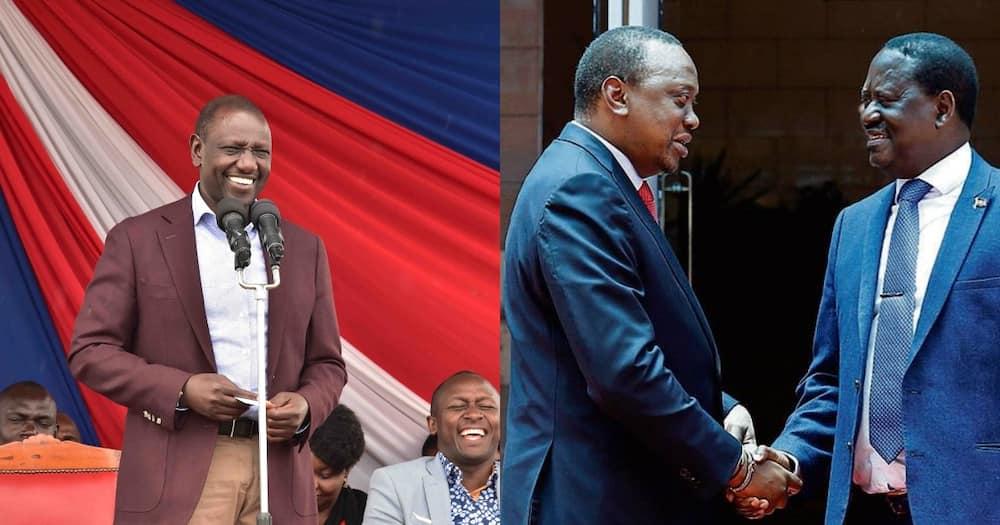 Raila Hawezi Kukubaliki Mt Kenya, Gavana Mutua Amwambia Rais Uhuru