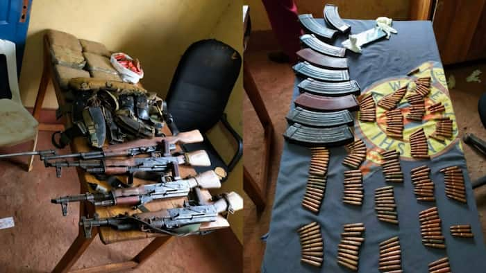 Isiolo: Detectives Seize 3 AK-47 Rifles, 203 Bullets from Suspects House in Sweeping Morning Raid