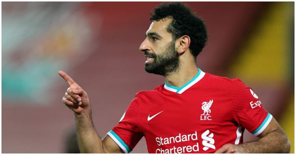 Mohamed Salah set to beat Ronaldo, Messi to player of the century award
