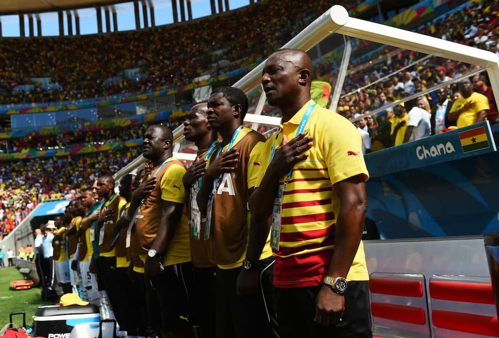Kwesi Appiah sacked as Ghana national team football coach