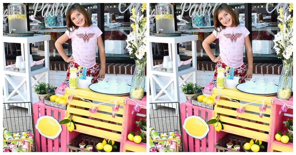 7-year-old girl raises KSh 28 million for her brain surgery by selling lemonade