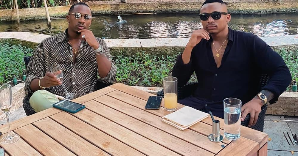 Too close: Otile Brown, Hamisa Mobetto raise eyebrows after getting spotted sharing cozy moments