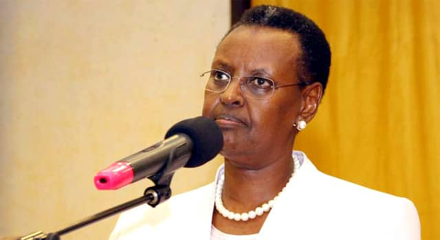Uganda's First Lady Janet Museveni says its God who helps husband win elections