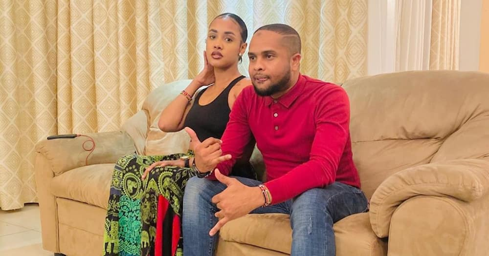 Jamal Gaddafi accuses Diamond of trying to wreck Tanasha Donna's music career