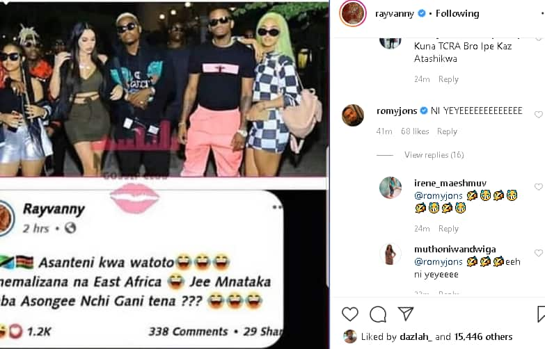 Rayvanny caught lying about Facebook account he used to diss Tanasha Donna
