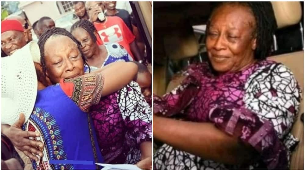 Patience Ozokwor surprised with car gift on her 62nd birthday