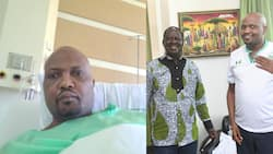 """Moses Kuria Thanks God after Undergoing Successful Surgery: """"He is Merciful"""