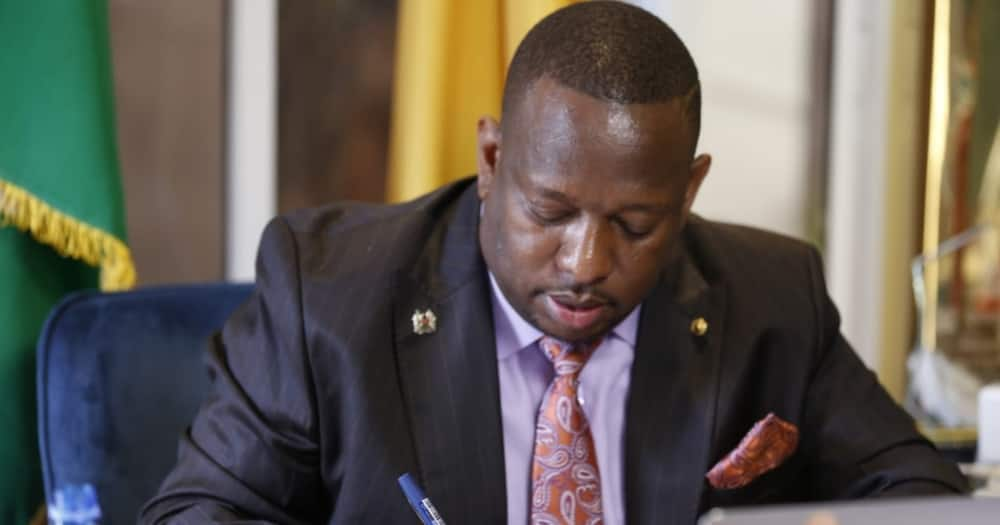Mike Sonko unsuccessfully tries to seek audience with Raila at his Capitol Hill office