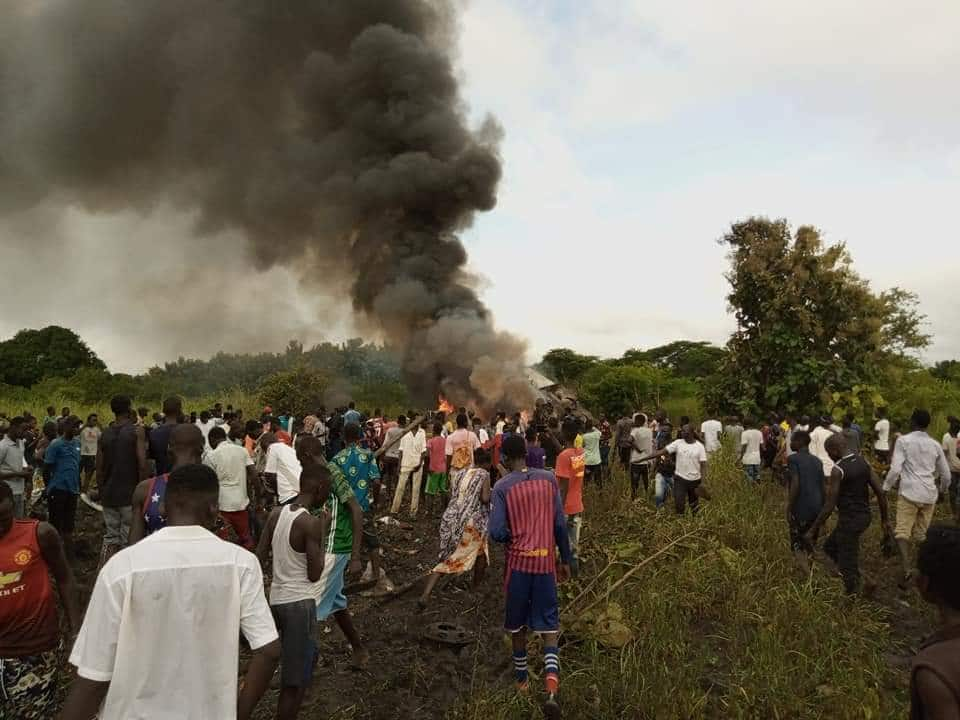 South Sudan: 17 killed as cargo plane crashes shortly after takeoff