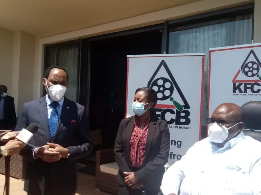 KFCB boss Ezekiel Mutua says film industry has lost at least 300K jobs