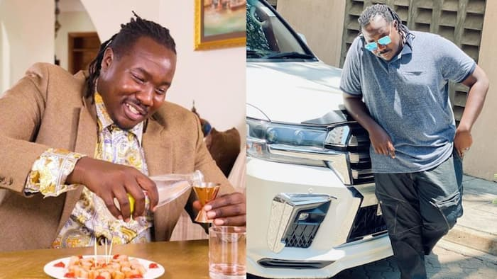Willis Raburu Says Makeup Hides Character in People, Many Are Looking for Money Not Love