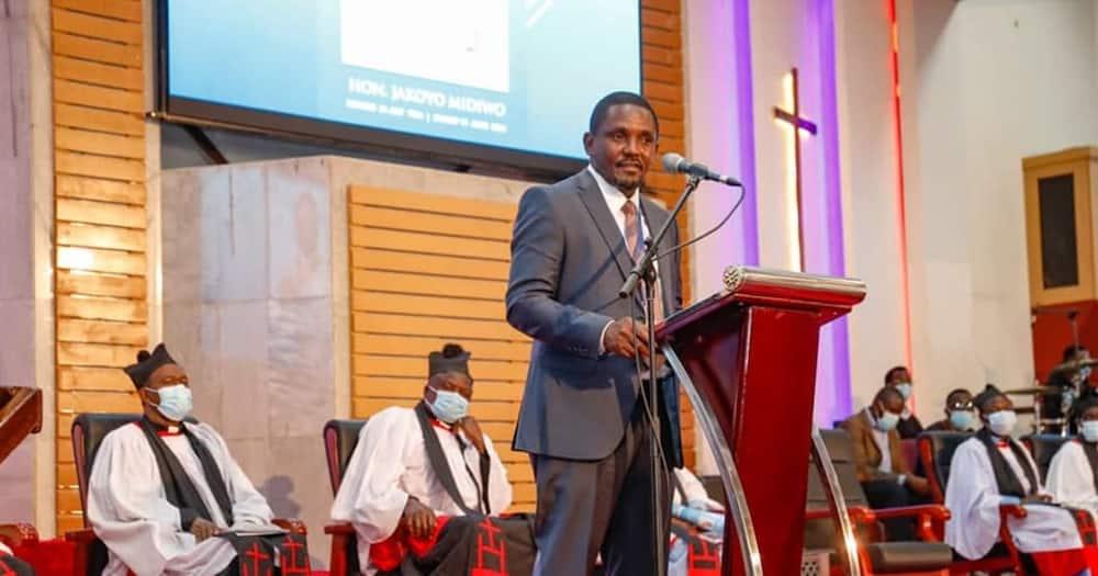 Gem MP Elisha Odhiambo. Photo: Elisha Odhiambo.
