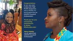 Msanii Mercy Masika ateuliwa kama balozi wa uhusiano mwema UNHCR