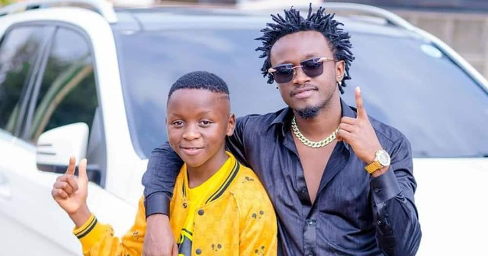 """Bahati recalls how he first met adopted son Morgan:""""He refused to return to the orphanage"""""""