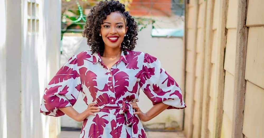 Singer Kambua gets customised ring to remember late son.